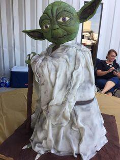 Yoda cake by Bit of Whimsy Cakes - Richmond, Kentucky.