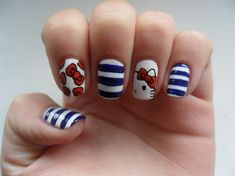 Hello Kitty nails - Nail Art Gallery by NAILS Magazine