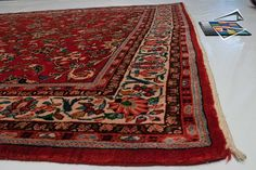 sarouk rugs   Persian Sarouk Rug 6' x 10'
