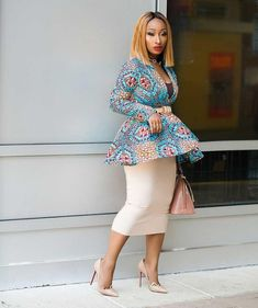 Get the look: Super Gorgeous Ankara Styles You Would Love At First Glance - Wedding Digest Naija African Fashion Designers, African Print Fashion, Africa Fashion, African Fashion Dresses, Fashion Prints, Fashion Outfits, African Prints, Fashion Ideas, African Outfits