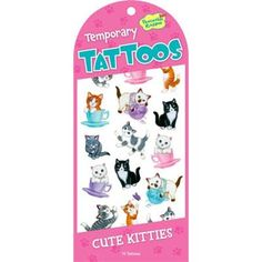 Peaceable Kingdom / Cute Kitties Temporary Tattoos Peaceable Kingdom http://www.amazon.com/dp/B0083C4FSK/ref=cm_sw_r_pi_dp_1S0Uvb0J9PS0X