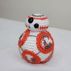 BB8 from Star Wars - free crochet pattern in English and Dutch by Ilona Leenders…