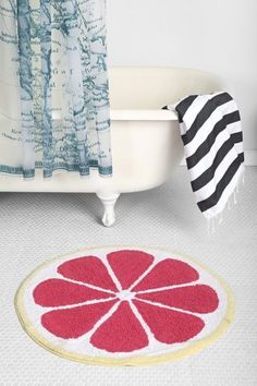 Plum & Bow Fruity Bath Mat - Urban Outfitters