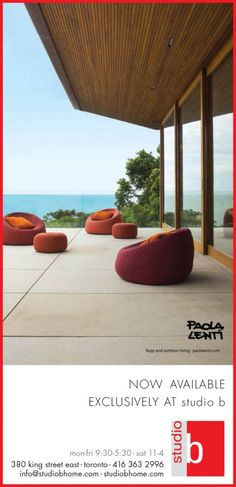 Over the years, studio b has received the well-earned reputation of embodying the ideals of refinement, quality, and excellence, offering exceptional furnishings to a discerning clientele. Paola Lenti, Cottage Furniture, News Studio, Outdoor Decor, Design, Home Decor, Decoration Home, Room Decor