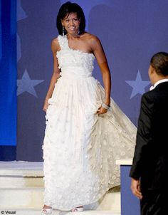 michelle Obama robe jason wu