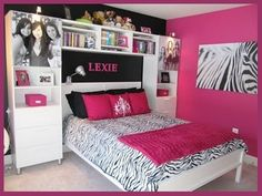 Decorating Ideas for Teenage Girls Bedroom