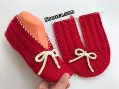 Red Shoes, Looking For Women, Baby Shoes, Slippers, Socks, Booty, Knitting, Clothes, Youtube
