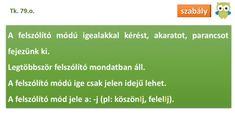 Az igék felszólító módja - Nyelvtan 4. osztály VIDEÓ - Kalauzoló - Online tanulás