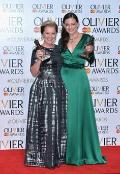 Pin for Later: A Dame, a Sir, and a Whole Lot of Talent Dominated the Olivier Awards Imelda Staunton and Lara Pulver