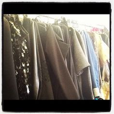 Clothes, clothes and more clothes!