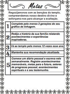 Copiar o que é BOM é sempre BOM, rs!!! O meu muito obrigadaa Ala Ribeirão Pires, que forneceu essas inspiradas metas para nós mulheres da S...