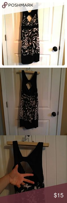 Mini dress Black and white dress cute design Rue 21 Dresses Mini