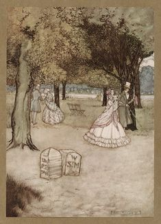 ✽ arthur rackham - from 'peter pan in kensington gardens' - google
