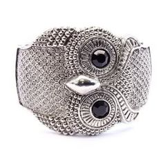 owl cuff bracelet my mom bought for me <3