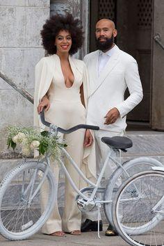 Si alguna vez me llego a casar me pongo esto! Solange Knowles wedding - Stephane Rolland jumpsuit