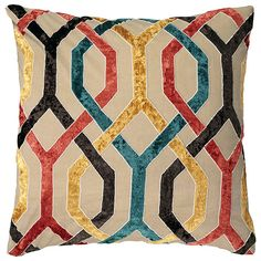 Honeycomb Cushion Cover, Large - Multi