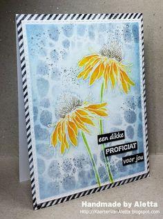 Handmade by Aletta: Tim Holtz Flower Garden