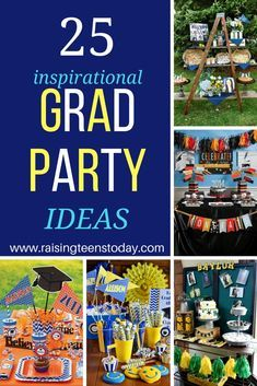 25 killer ideas to throw an amazing grad party!