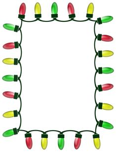 set of christmas frames vector christmas border christmas frame rh pinterest com