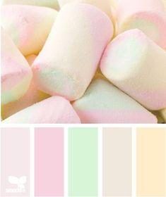 marshmallow pastels
