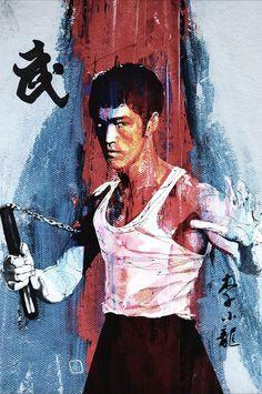 Bruce Lee art Más
