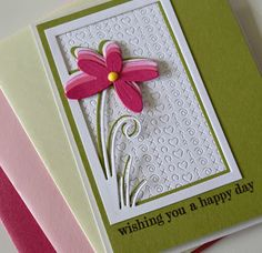 Marybeth's time for paper: Floral Stem Collage