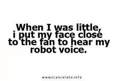 Little? Whatever...I do that now... yep guilty of doin this now lol