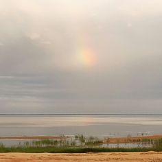 Rainbow cloud, Hailuoto, Finland