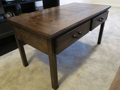 Get the FREE plans to build this coffee table with storage!
