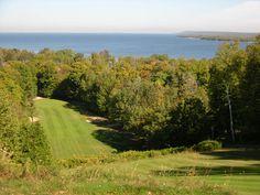 Alpine Golf Course, Nearest Location: Egg Harbor Wisconsin, Image Credit: Door County Visitor Bureau