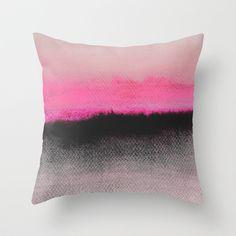 Double Horizon Throw Pillow by Georgiana Paraschiv - $20.00