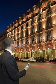 Five-star lighting makeover by Philips for Parisian luxury hotel, Le Meurice : illumni – The World Of Creative Lighting Design