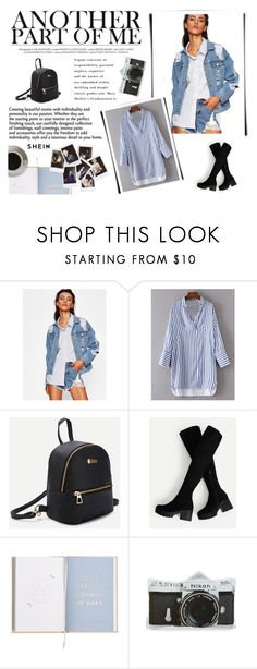 """""""SheIn 3/IV"""" by amina-haskic ❤ liked on Polyvore featuring Nasty Gal, Bunn, Nikon and shein"""