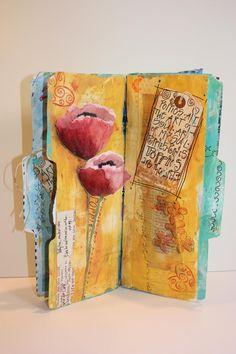 Art du Jour by Martha Lever: Donna Downey Journal