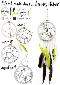 Do it! Dream catcher  DIY