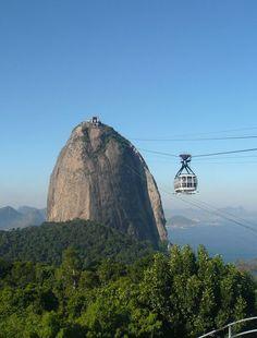 rio de janeiro seen from sugarloaf mountain | Sugarloaf Mountain Brazil