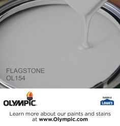 Olympic Flagstone Gray is THE perfect gray. No funny undertones, looks good no matter the weather or time of day