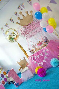 День рождения для маленькой принцессы !