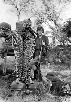 """The Lively Morgue """"Mrs. Marshall Field with the pelt of a jaguar."""" An article…"""