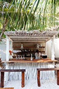 Hartwood - Outdoor solar-powered restaurant using only local ingredients, in Tulum, Mexico.