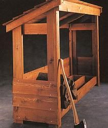 Idea: Build this large enough for 1 Cord of firewood