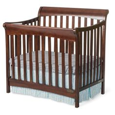 Child Craft Ashton Mini 4-in-1 Convertible Crib - Cribs at Hayneedle