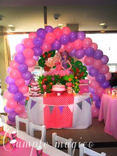 1000 images about fiesta barbie on pinterest barbie - Decoracion fiesta jardin ...