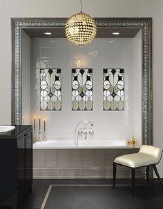 http://treto.ru/img_lb/Grazia/Venice-Grazia/per_sito/ambienti/Venice (Grazia)-Grazia-1.jpg?7 , Общественные помещения, Ванная, стиль Буазери, Керамика, настенная, Глянцевая, Неректифицированны  обрамление проема ванной