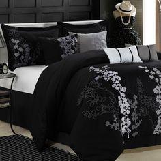 Luxury Home Chic Home Gazebo 8 Piece Comforter Set