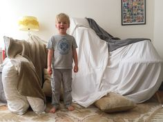 H's Secret Pillow Fort