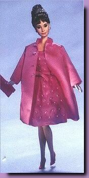 Love all three of these things!!!  1998-Barbie Audrey Hepburn Pink