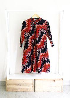 100% washed cotton East African kitenge dress. Bold, modern, innovative. Made in Kenya.