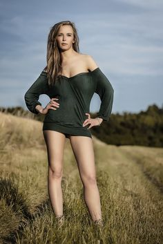 Alzbeta #beauty #portrait #field #beutiful #sunset #sun #gold #girl #seduce #smile #seduce #lingerie #boobs #seductive #pose