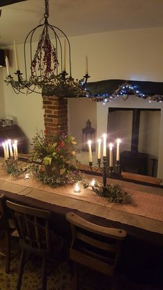Dining room - Christmas 2016